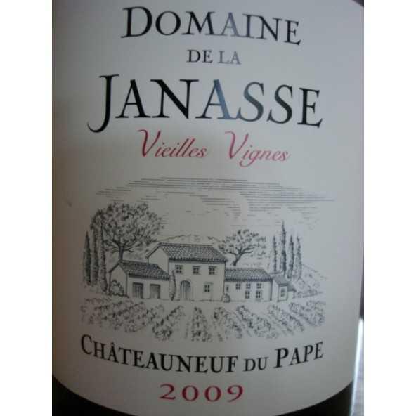 CHATEAUNEUF DU PAPE LA JANASSE Vieilles Vignes 2009