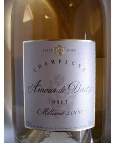 CHAMPAGNE Cuvée Amour de Deutz 2003 en coffret