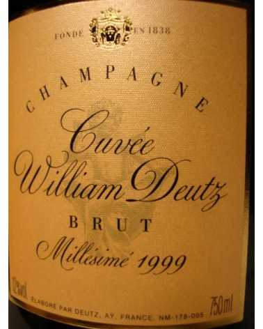 CHAMPAGNE CUVÉE WILLIAM DEUTZ 1999