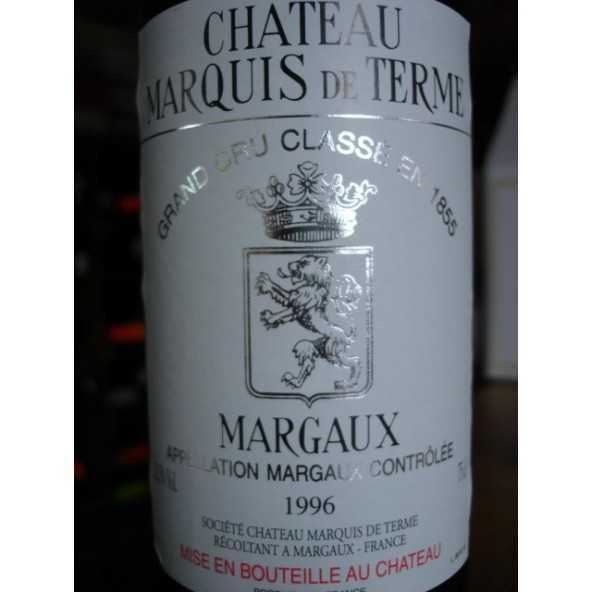 CHATEAU MARQUIS DE TERMES 1996