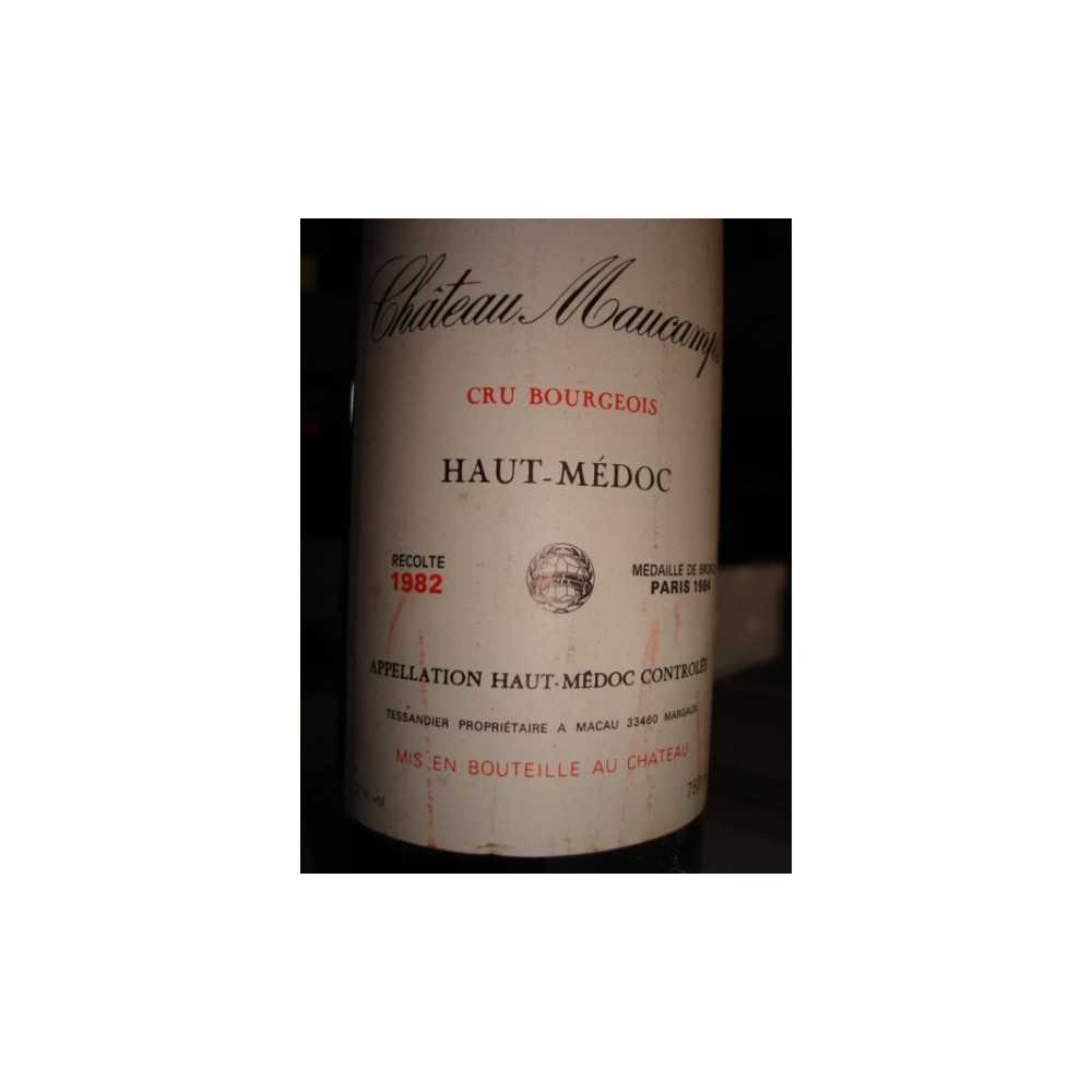 CHATEAU MAUCAMPS 1982