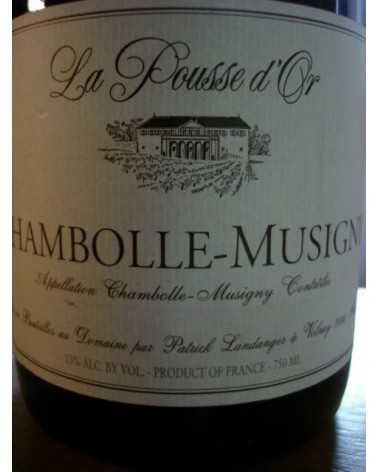 CHAMBOLLE MUSIGNY La Pousse d'Or 2010