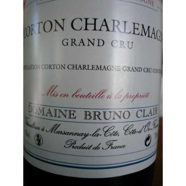 CORTON CHARLEMAGNE Grand Cru Bruno Clair  2009