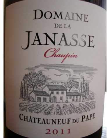 CHATEAUNEUF DU PAPE LA JANASSE Chaupin 2011