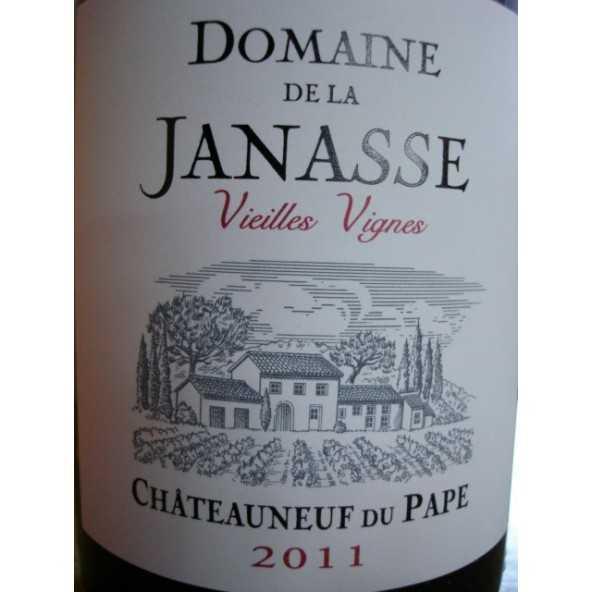 CHATEAUNEUF DU PAPE LA JANASSE Vieilles Vignes 2011