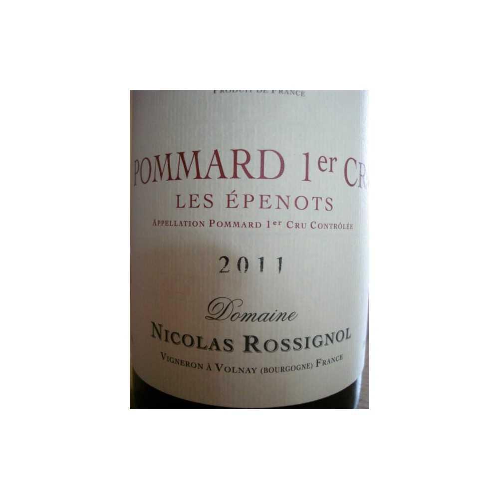 POMMARD 1er Cru Epenots 2011 Nicolas Rossignol