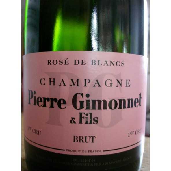 CHAMPAGNE GIMONNET Rosé de BLANCS