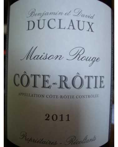 COTE ROTIE DUCLAUX MAISON ROUGE 2011