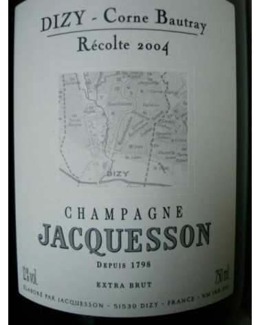 CHAMPAGNE JACQUESSON DIZY CORNE BAUTRAY 2004