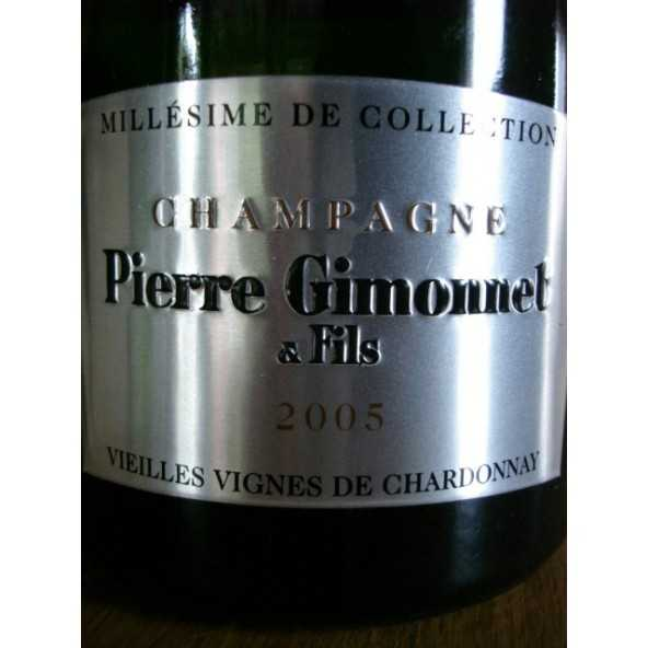 CHAMPAGNE Gimonnet Magnum Millesime de Collection 2005