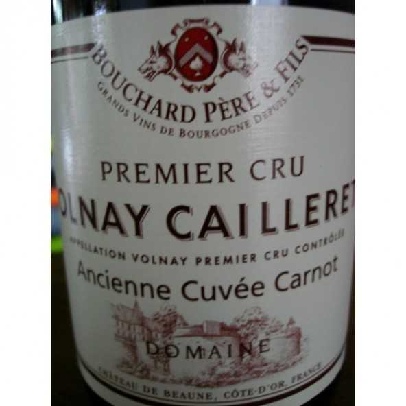 VOLNAY CAILLERETS Ancienne Cuvée Carnot Bouchard P & F 2012