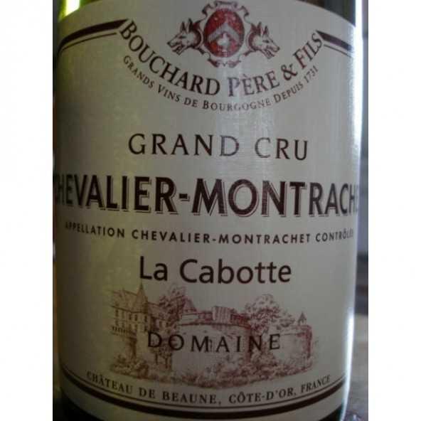 CHEVALIER MONTRACHET La Cabotte Bouchard P & F 2012