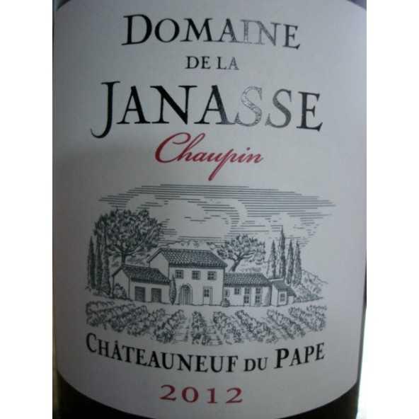 CHATEAUNEUF DU PAPE LA JANASSE CHAUPIN