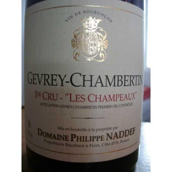 GEVREY CHAMBERTIN 1 er CRU LES CHAMPEAUX Ph NADDEF 2011