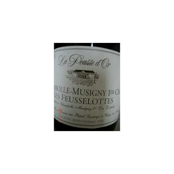CHAMBOLLE MUSIGNY 1er CRU Les Feusselottes POUSSE D'OR