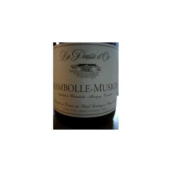 CHAMBOLLE MUSIGNY La Pousse d'Or 2012