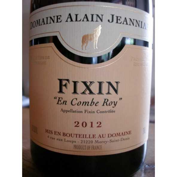 FIXIN rouge EN COMBE ROY ALAIN JEANNIARD 2012