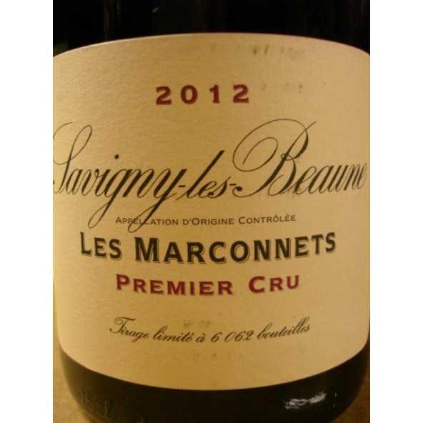 SAVIGNY LES BEAUNE 1er cru Les Marconnets Domaine de la Vougeraie 2012