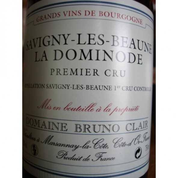 SAVIGNY LES BEAUNE LA DOMINODE BRUNO CLAIR 2012