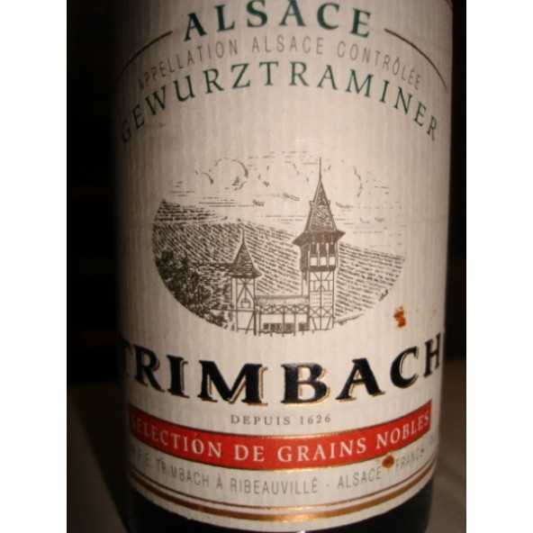 GEWURZTRAMINER  Sélect. de Grains Nobles Trimbach 1/2 1989
