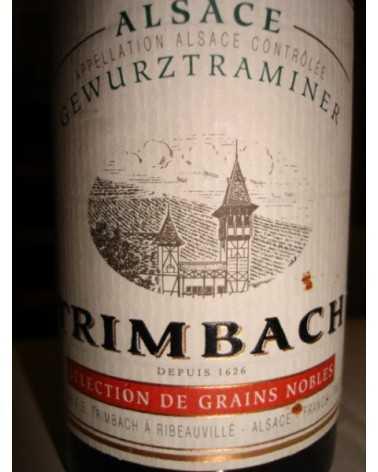 GEWURZTRAMINER  Sélect. de Grains Nobles Trimbach 1/2 1989