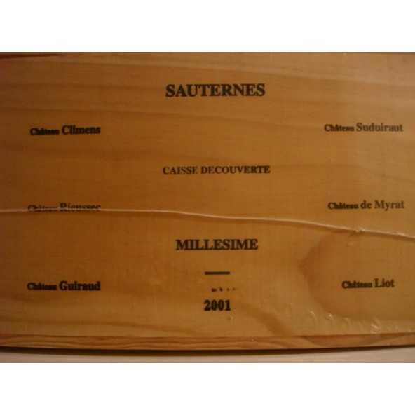 CLIMENS RIEUSEC SUDUIRAUT GUIRAUD MYRAT LIOT 2001