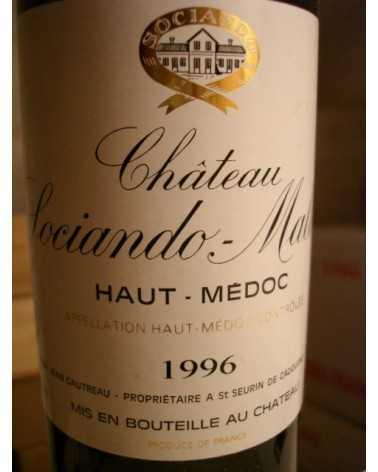 CHATEAU SOCIANDO MALLET 1998