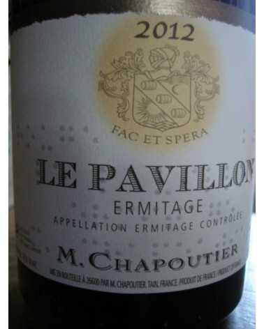 HERMITAGE LE PAVILLON ROUGE CHAPOUTIER 2012