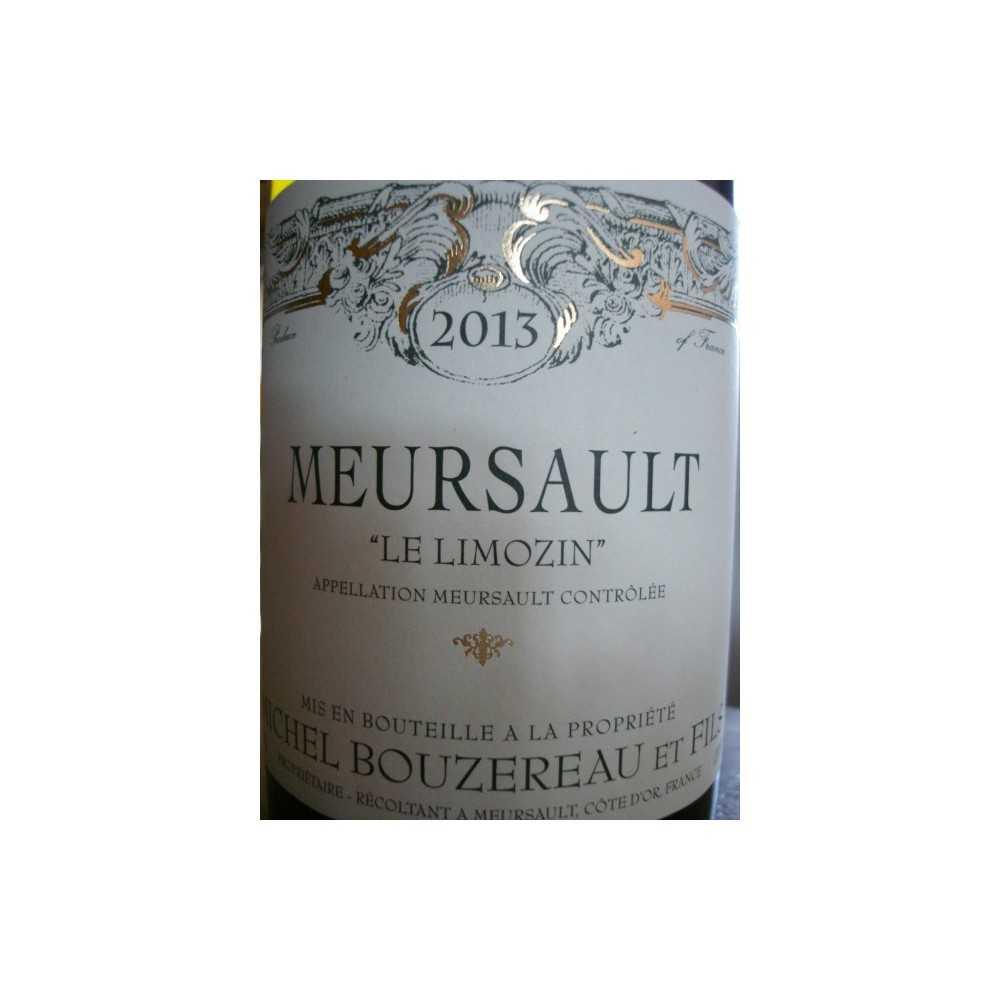 MEURSAULT Le Limozin MICHEL BOUZEREAU 2012