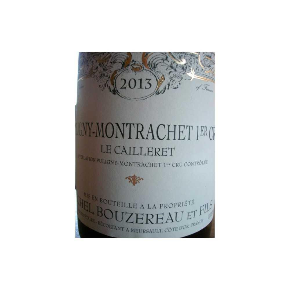 Puligny Montrachet 1er cru Le Cailleret Michel Bouzereau 2012