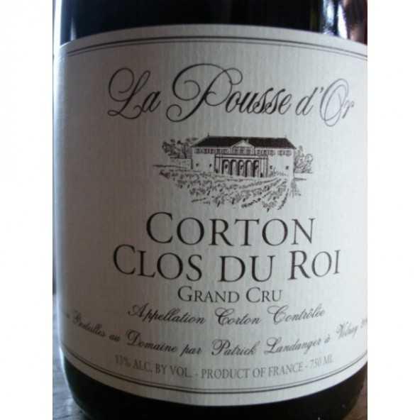 CORTON Clos du Roi Grand crû Pousse d'Or 2012