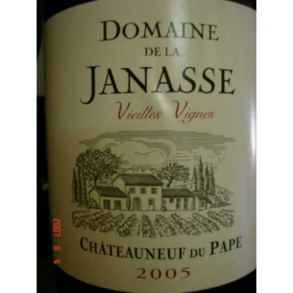 CHATEAUNEUF DU PAPE LA JANASSE Vieilles Vignes 2003