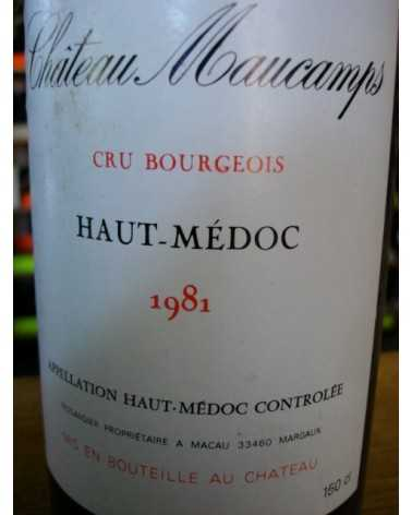 CHATEAU MAUCAMPS Magnum 1981