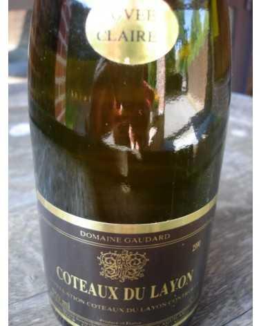 COTEAUX DU LAYON PIerre Aguilas 1990 Cuvée Claire