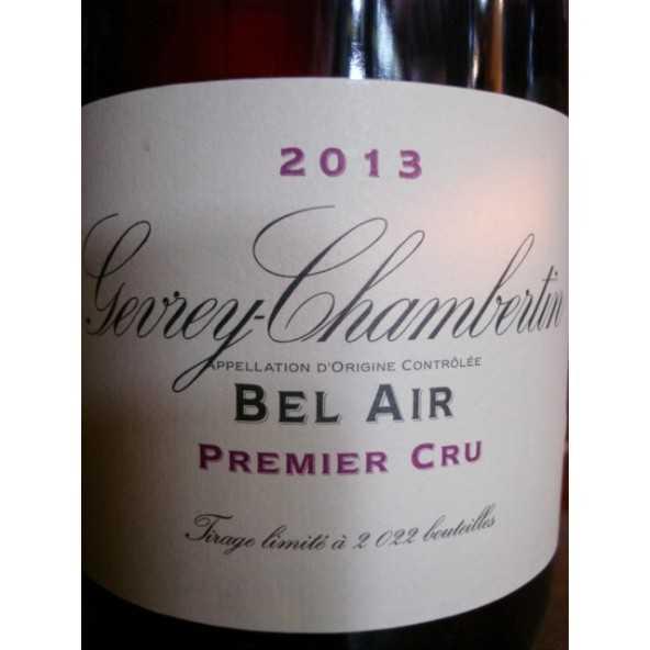 GEVREY CHAMBERTIN 1er cru Bel Air Domaine de la Vougeraie 2013