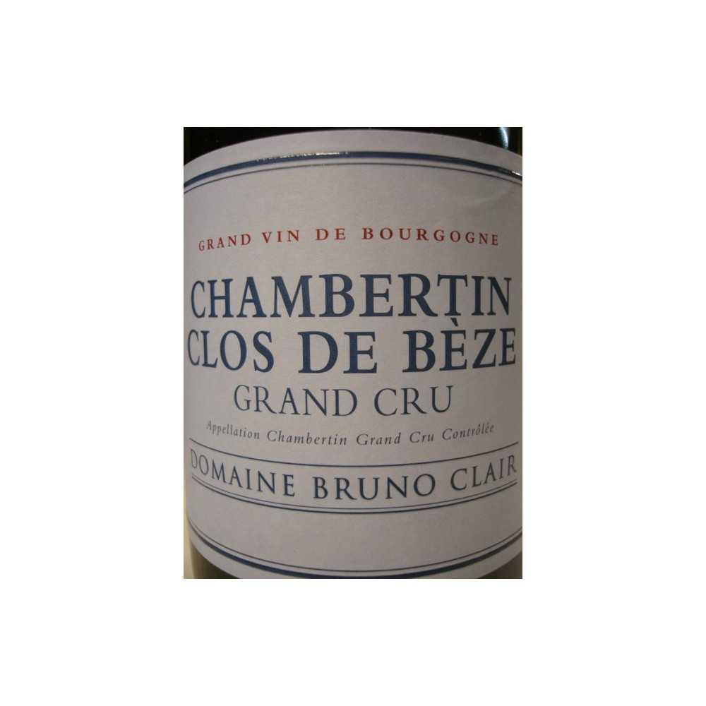 CHAMBERTIN CLOS DE BEZE BRUNO CLAIR