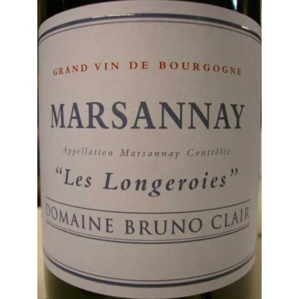 MARSANNAY Les Longeroies Bruno CLAIR 2012