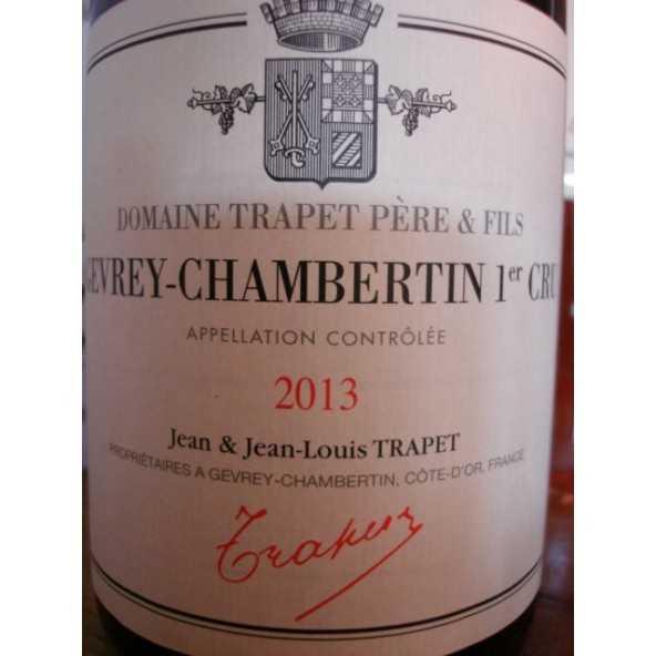 GEVREY CHAMBERTIN 1er CRU ALEA Domaine Trapet
