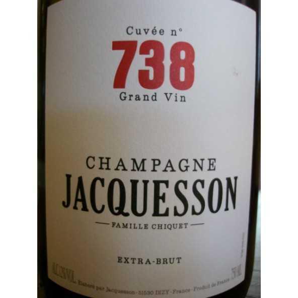 CHAMPAGNE JACQUESSON Cuvée 737