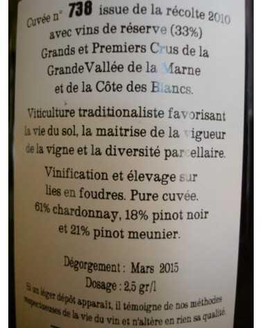 CHAMPAGNE JACQUESSON Cuvée
