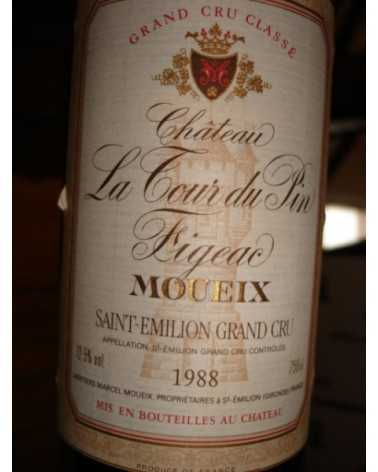 CHATEAU  LA TOUR DU PIN FIGEAC 1988