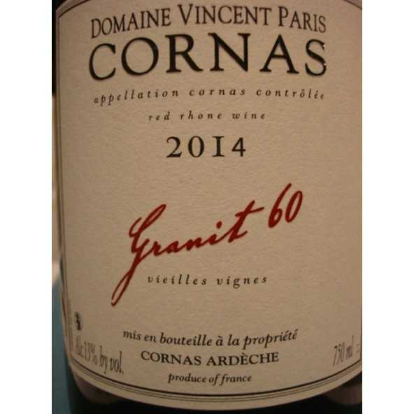 CORNAS Granit 60 Vincent Paris 2014