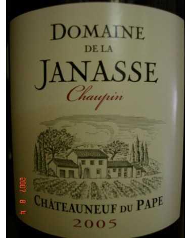 CHATEAUNEUF DU PAPE LA JANASSE Chaupin 2005