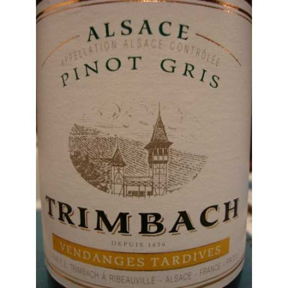 PINOT GRIS VENDANGES TARDIVES TRIMBACH 2008