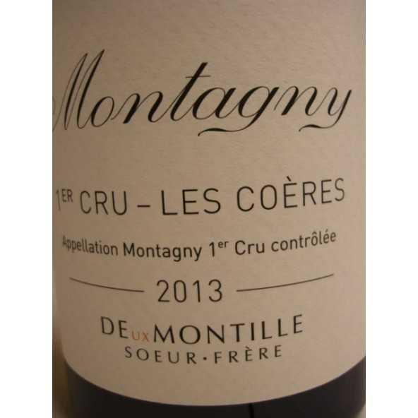 Montagny 1er crû Les Coères DEUX MONTILLE 2011