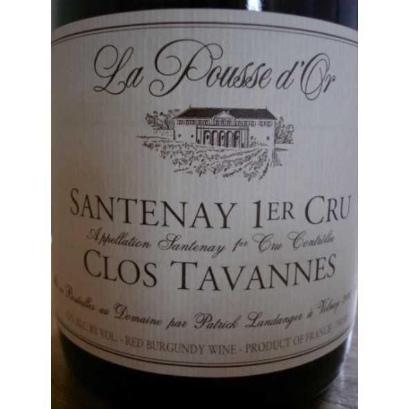 SANTENAY 1er crû Clos Tavannes Pousse d'Or
