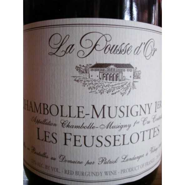 CHAMBOLLE MUSIGNY 1er CRU Les Feusselottes POUSSE D'OR 2013