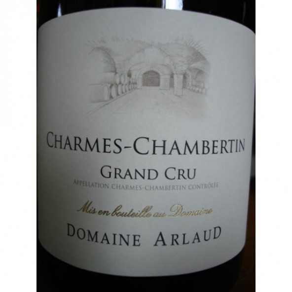 CHARMES CHAMBERTIN Domaine ARLAUD 2013
