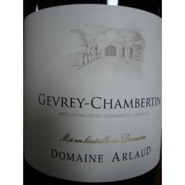 GEVREY CHAMBERTIN Domaine ARLAUD 2014