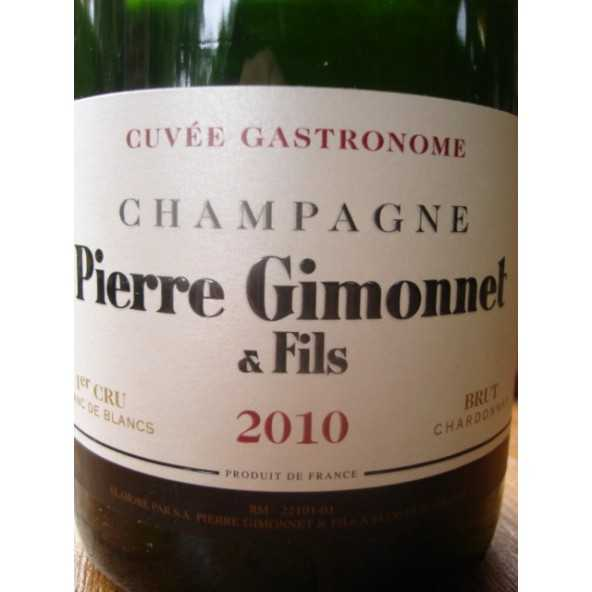 CHAMPAGNE GIMONNET GASTRONOME 2010